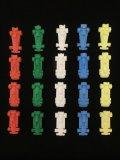F1スーパーカー消しゴム20種(4種×5色セット)(2)