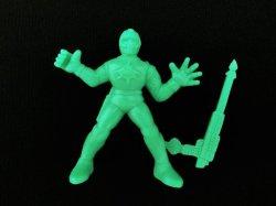 画像1: 水忍シルバーシャーク・未切り(緑)
